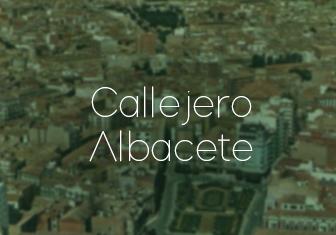 EMISALBA - Callejero Albacete