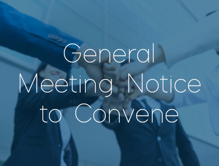 EMISALBA - General Meeting Notice to Convene