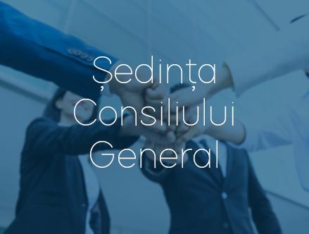 EMISALBA - Ședința Consiliului General