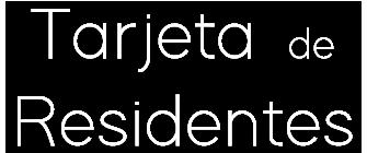 EMISALBA - Tarjeta Residente